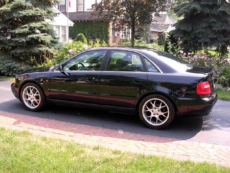 Audi on 1998 Audi A4 Quattro Concept